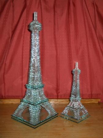 ... kado nikah, lampu hias, lampu hotel dan miniatur dari bahan kaca bekas
