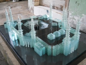 miniatur Meccah 1,2m x 60m, Kerajinan Kaca datar, kerajinan kaca bekas, jual kerajinan kaca, kerajinan kaca, https://jualkerajinankaca.wordpress.com/